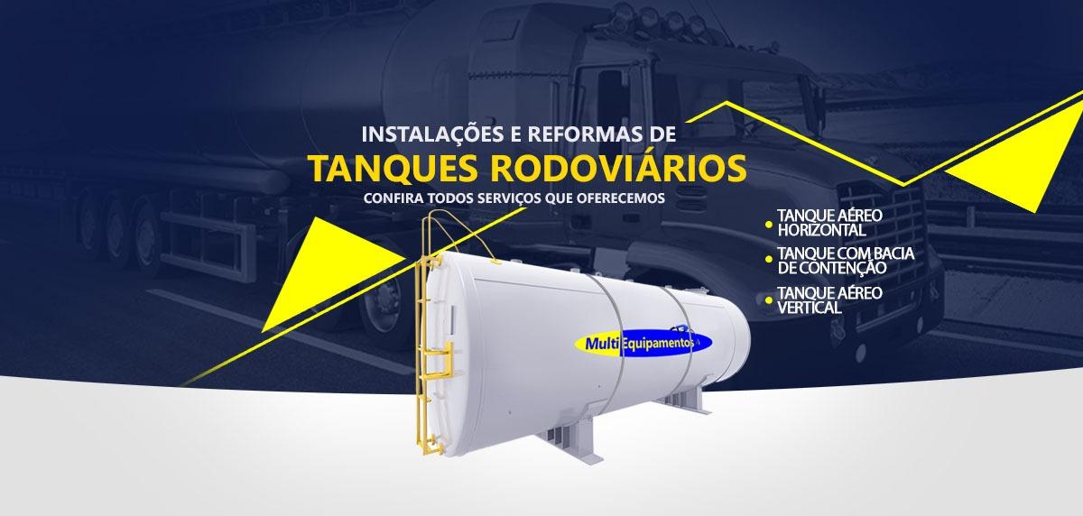 TANQUES PARA ARMAZENAMENTO DE COMBUSTÍVEL CURITIBA